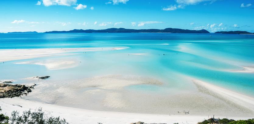 Le camping en australie sur la plus belle plage du monde for Plus belles places du monde