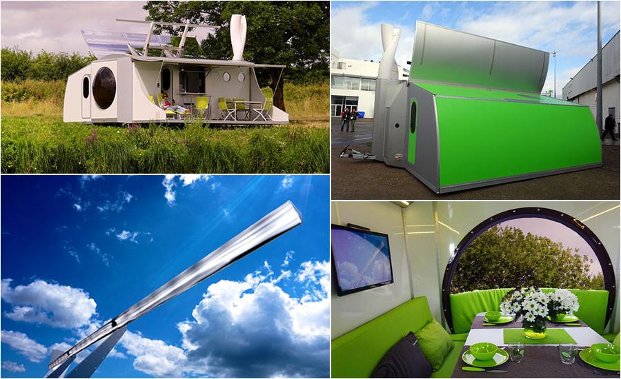 des nergies renouvelables pour une caravane autonome. Black Bedroom Furniture Sets. Home Design Ideas