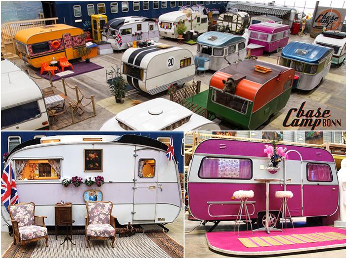 insolite caravanes vintages en allemagne. Black Bedroom Furniture Sets. Home Design Ideas