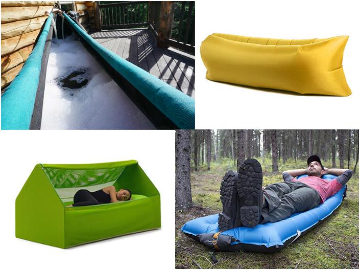 Objets gonflables insolites en camping toocamp - Objets design originaux ...
