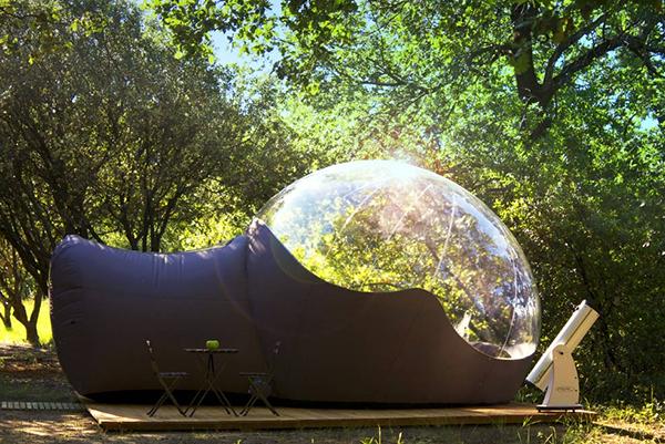 cabanes bulles extraordinaires. Black Bedroom Furniture Sets. Home Design Ideas