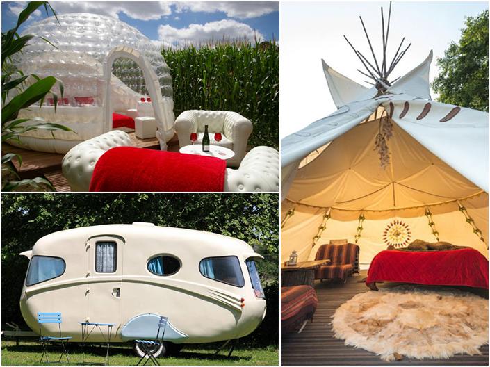 Nouveautés 2016 : logements insolites sur les campings