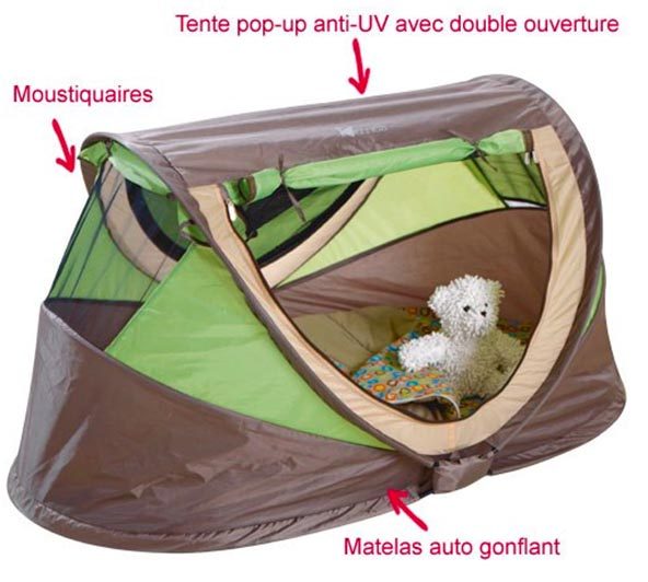 matelas camping bebe