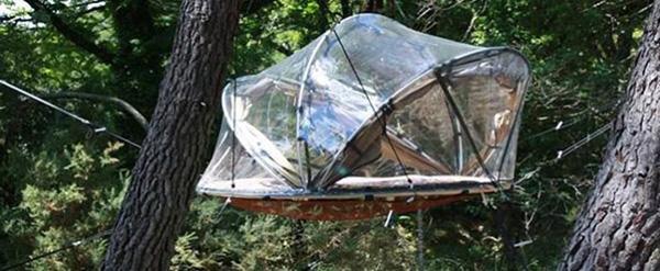Cabanes bulles extraordinaires for Acheter cabane dans les arbres