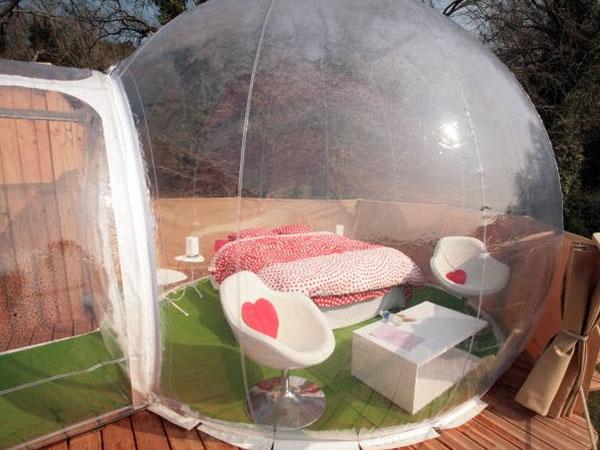 week end logements insolites sur les campings. Black Bedroom Furniture Sets. Home Design Ideas