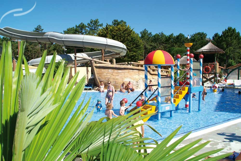 Top camping aquitaine for Camping sud france avec piscine