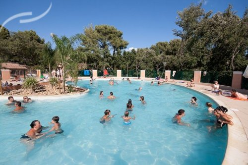 camping la londe les maures piscine location mobil home