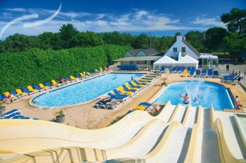 Camping La Trinité-sur-Mer piscine - Location mobil home La Trinité-sur-Mer piscine