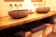 cabane dans les arbres - salle de bain