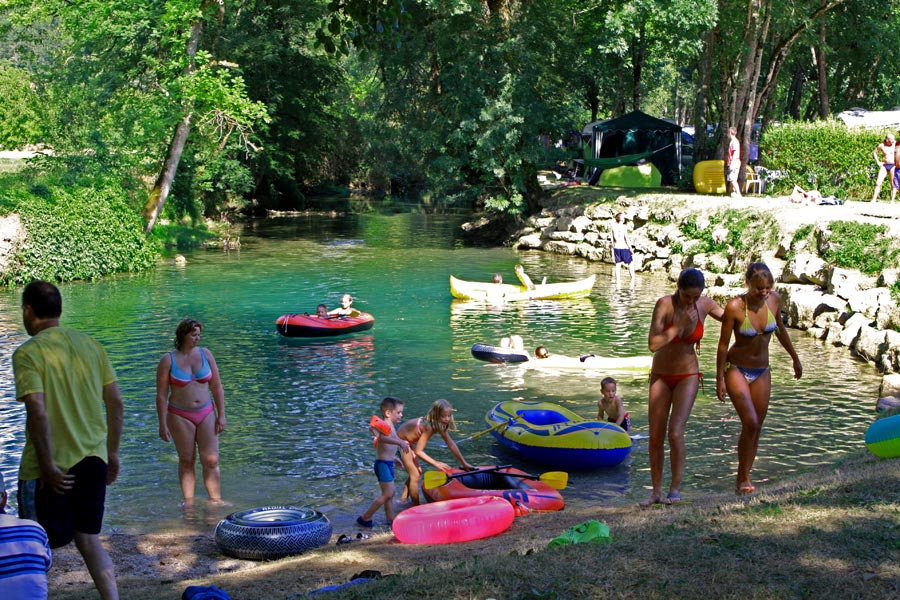 Camping Bel Ombrage  toiles  SaintCybranet  Toocamp