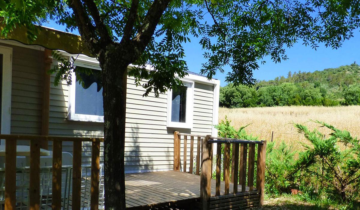 Camping l 39 esquiras 4 toiles vallon pont d 39 arc toocamp - Camping vallon pont d arc piscine ...