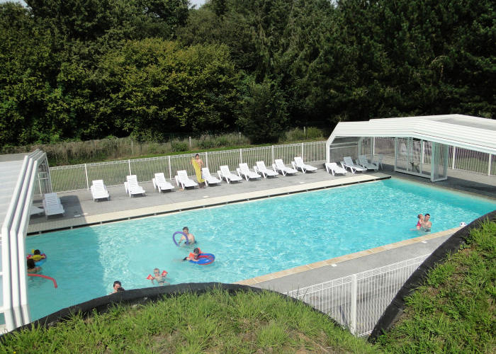 camping mers les bains picardie le rompval
