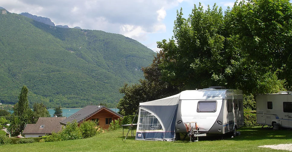 Camping - Le Taillefer - Doussard - Rhône-Alpes - France