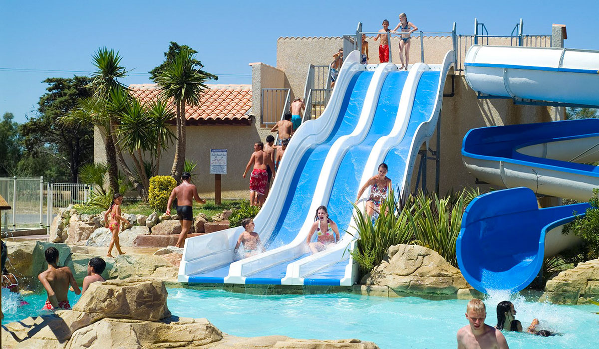 Camping narbonne plage france for Camping narbonne plage avec piscine