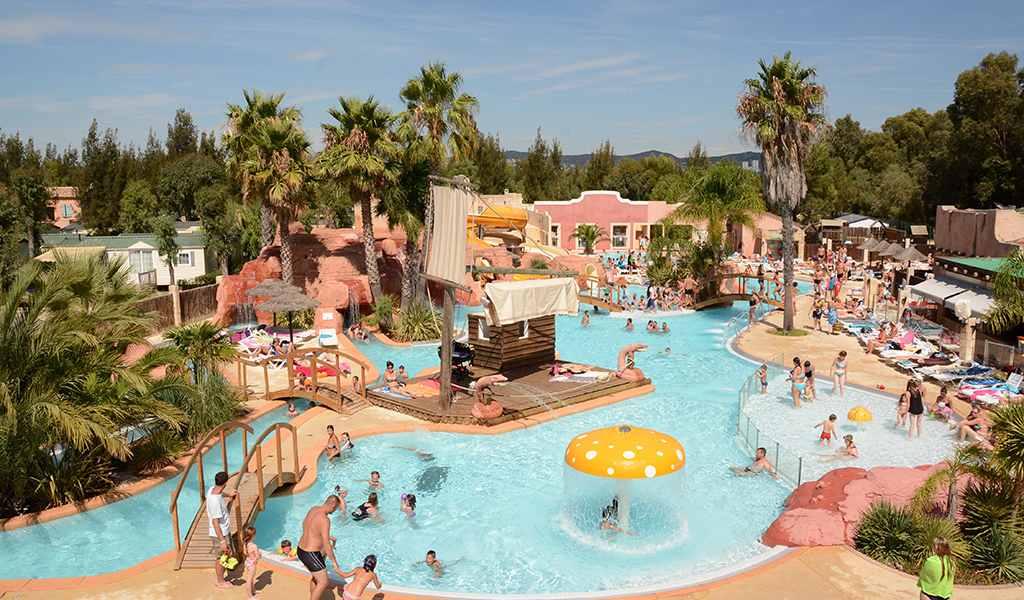 Camping Les Palmiers  toiles  Hyres  Toocamp
