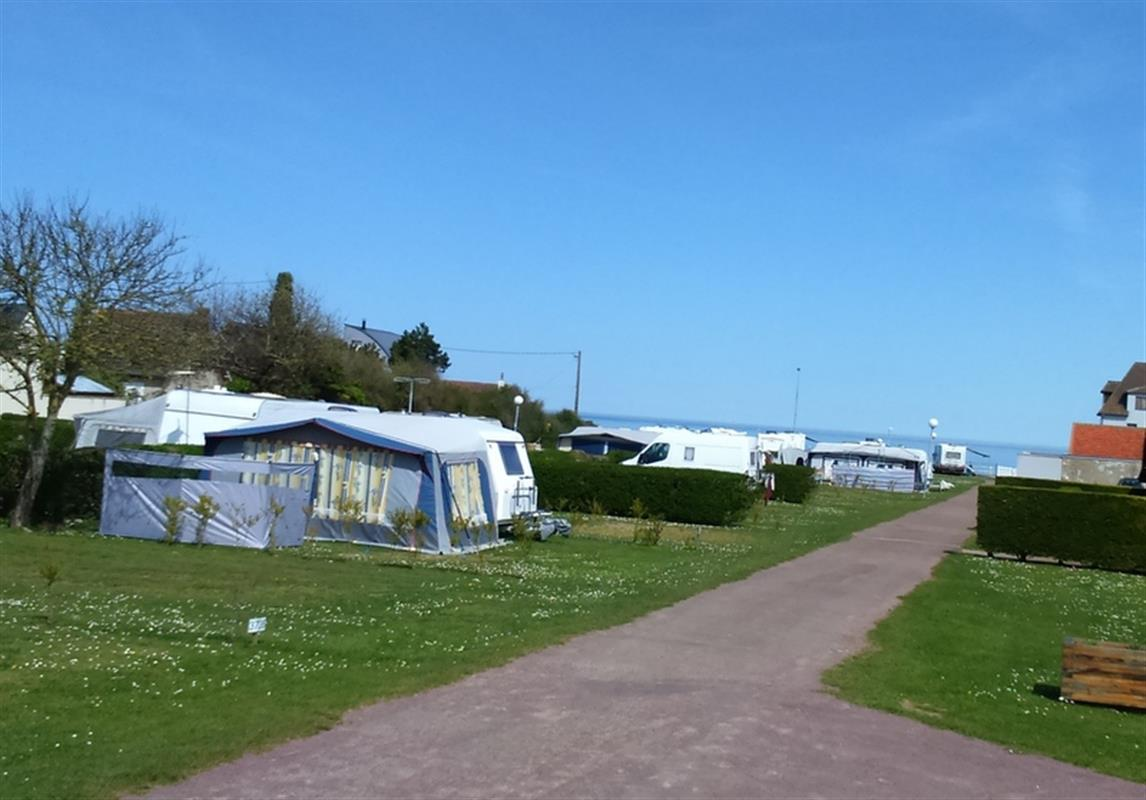 Camping - Oasis Camping - Lion-sur-Mer - Basse-Normandie - France