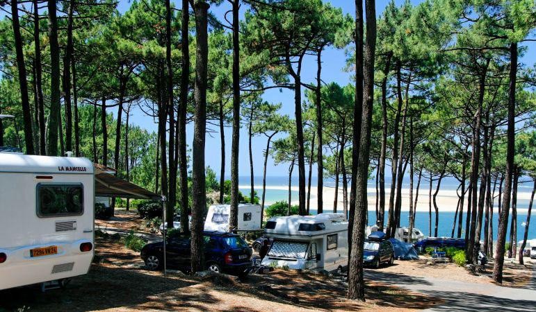 Camping Panorama Du Pyla 4 Etoiles Pyla Sur Mer Toocamp