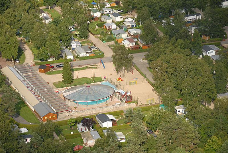 Camping caravaning de salverte 5 toiles le gros theil for Camping haute normandie piscine