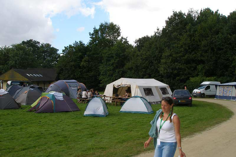Camping - Rennes - Bretagne - Gayeulles