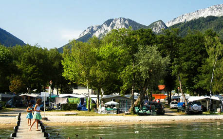 Camping - International du Lac Bleu - Doussard - Rhône-Alpes - France