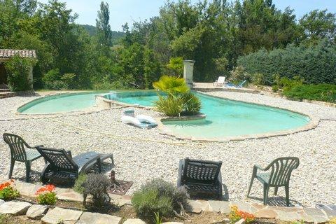 Camping la calade 1 toiles mollans sur ouv ze toocamp for Prix piscine creuse