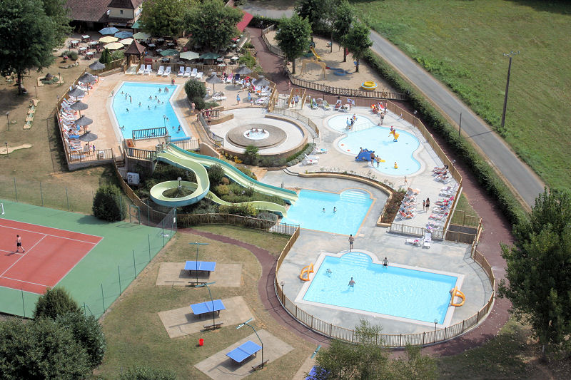Camping La Chtaigneraie  toiles  PratsDeCarlux  Toocamp