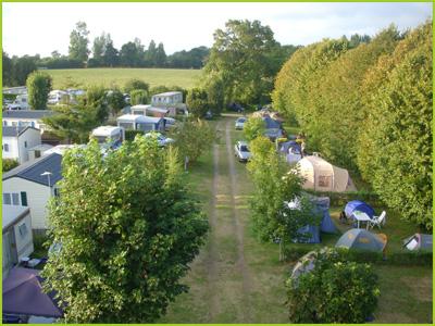Camping La Marienne  toiles  SaintPairSurMer  Toocamp