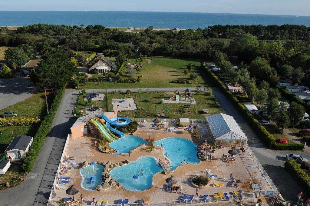 Camping la plage de cleut rouz 4 toiles fouesnant toocamp for Camping la piscine bretagne