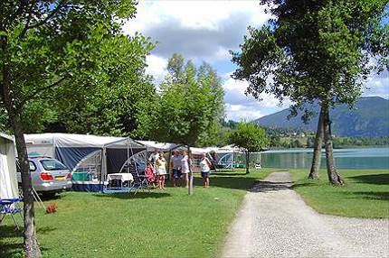 Camping Le Curtelet  toiles  LepinLeLac  Toocamp