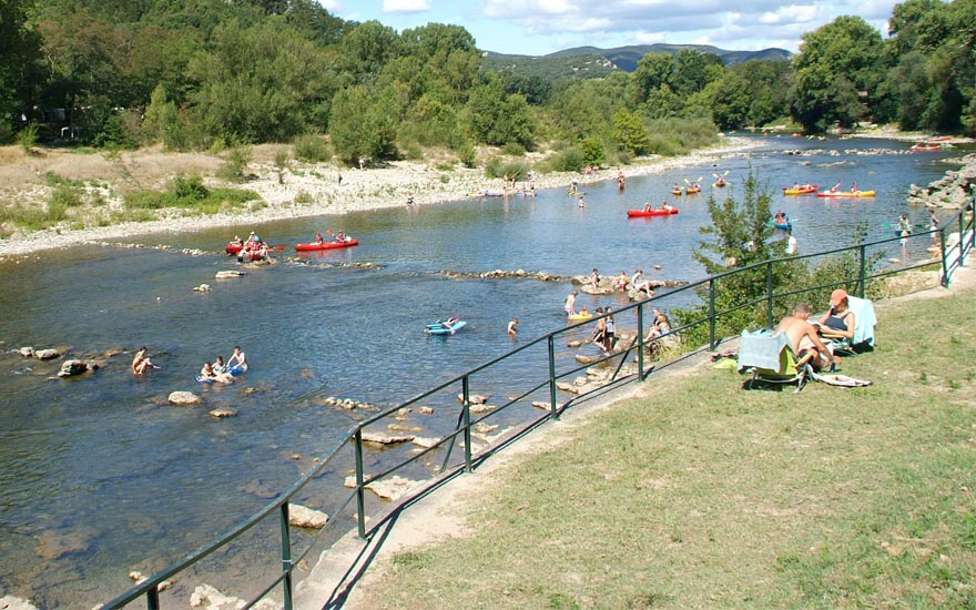 Camping Le Provenal  toiles  VallonPontDArc  Toocamp