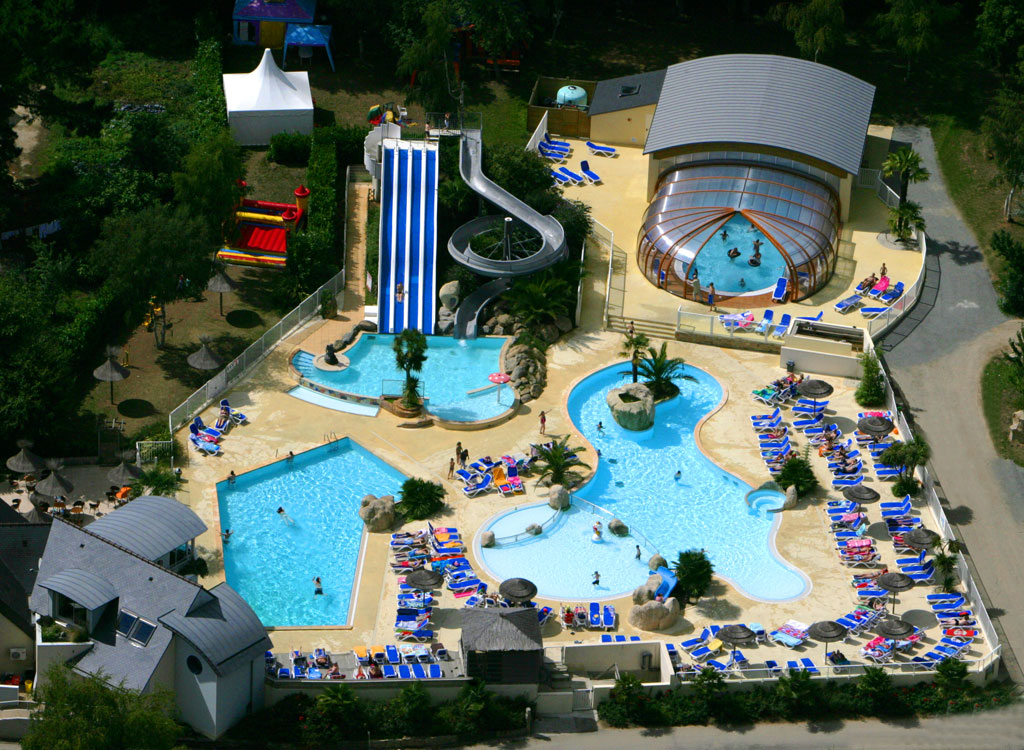 Camping Les 2 Fontaines 4 Toiles N Vez Toocamp