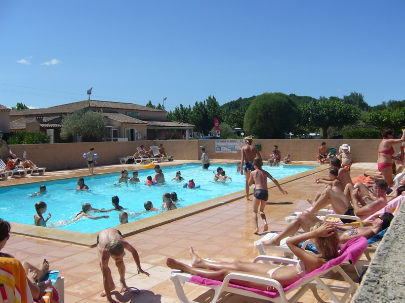 Camping - Les Amarines - Cornillon - Languedoc-Roussillon - France