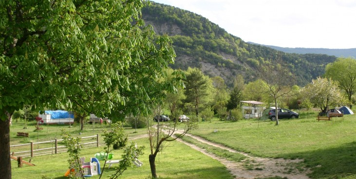 Camping - Sainte-Colombe - Provence-Alpes-Côte d'Azur - Les Catoyes