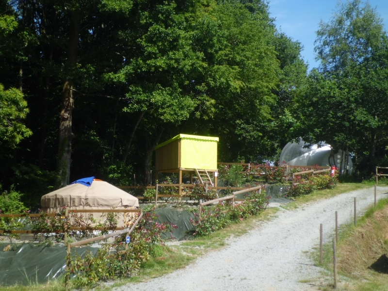 Camping - Les Cerisiers - Guillac - Bretagne - France