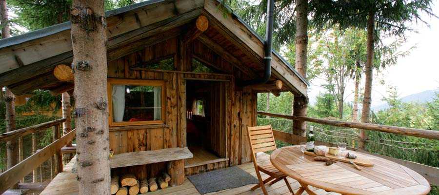 cabane dans les arbres haute savoie h bergement insolite. Black Bedroom Furniture Sets. Home Design Ideas