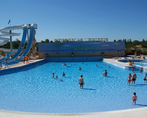 Camping les mimosas 4 toiles portiragnes toocamp for Camping bormes les mimosas piscine