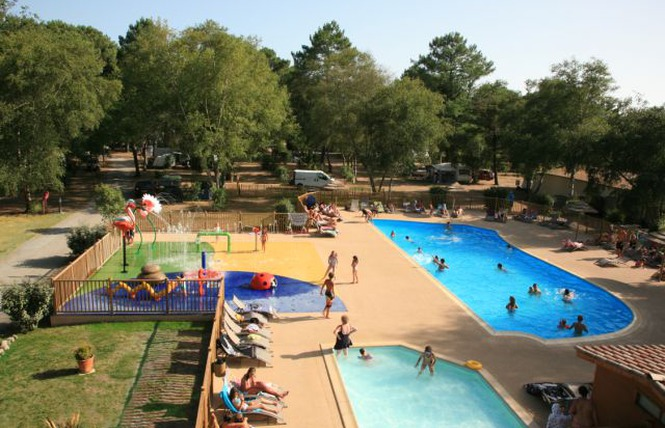 Camping - Les Ourmes - Hourtin - Aquitaine - France