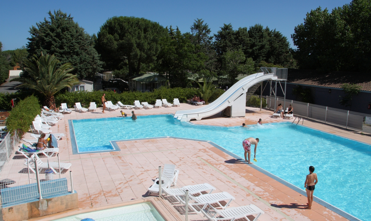 Camping - les Sablettes - Agde - Languedoc-Roussillon - France
