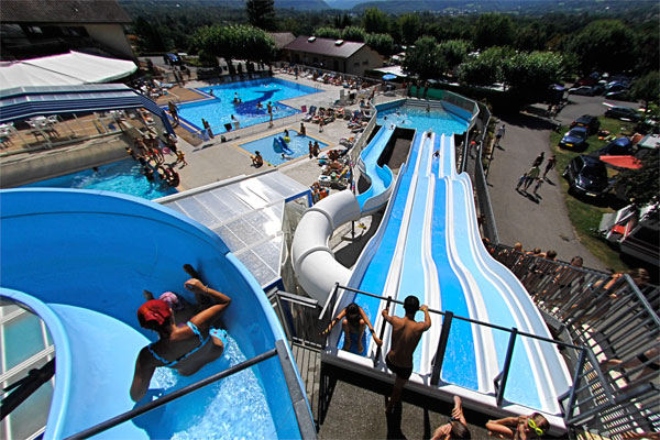 Camping l 39 id al 3 toiles lathuile toocamp - Camping lac d annecy avec piscine ...