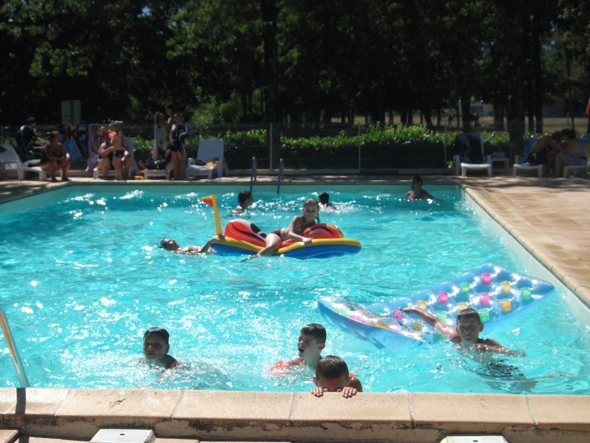 Camping Avec Piscine Carcans