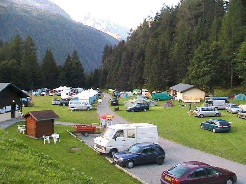 Camping les praz de chamonix 2 campings et 49 aux for Camping chamonix piscine