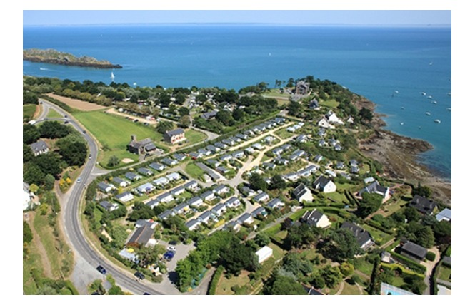 Camping - Port-Mer - Cancale - Bretagne - France