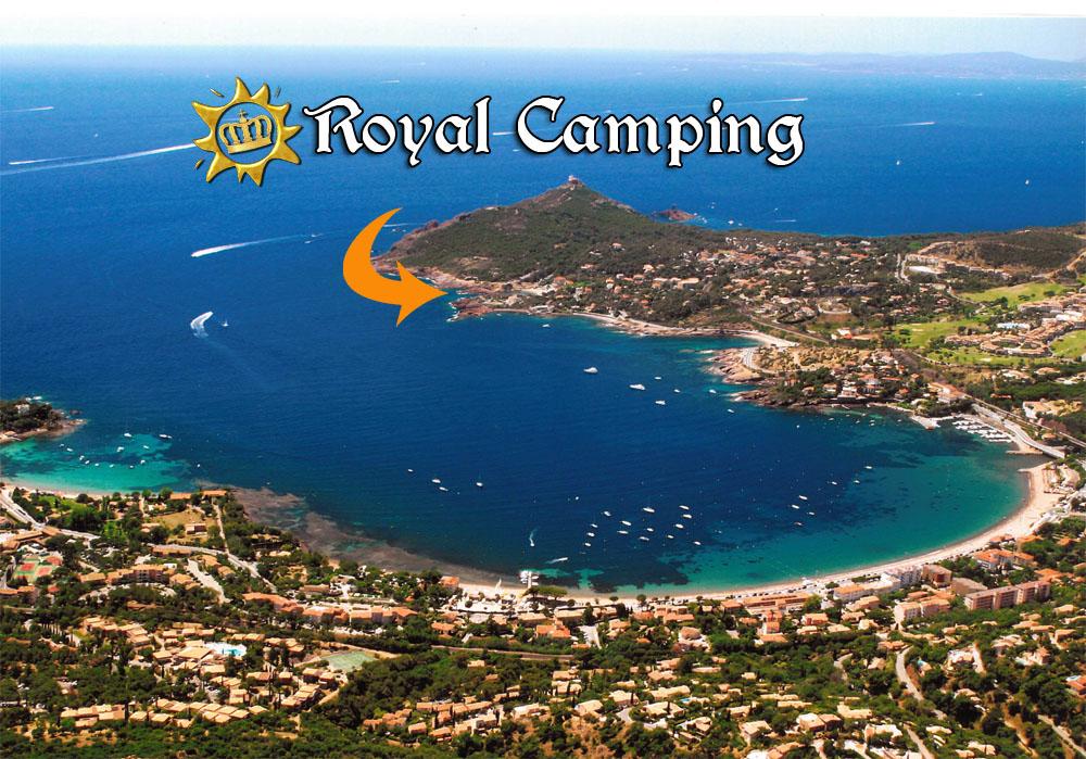 Camping fr jus bord de mer toocamp - Plage la plus proche de salon de provence ...