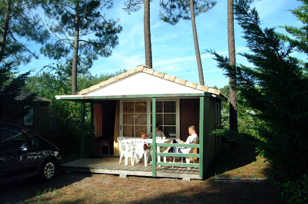 Camping - Saint-jacques - Laas - Aquitaine - France