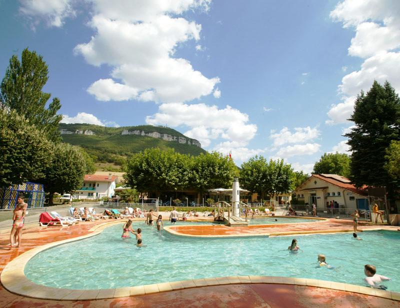 Camping avec piscine à Millau