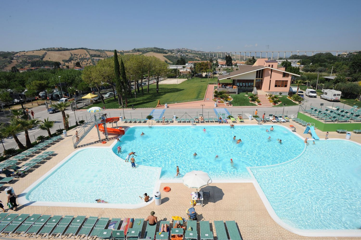 Camping - Village Don Antonio - Giulianova - Abruzzes - Italie