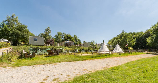 Camping - Guillac - Bretagne - Les Cerisiers