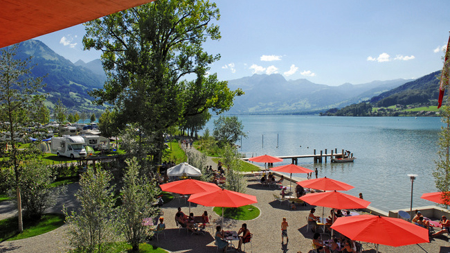 Camping - Sarnen - Suisse centrale - Seefeld