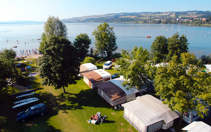 Camping - Sempach - Suisse centrale - Sempach TCS