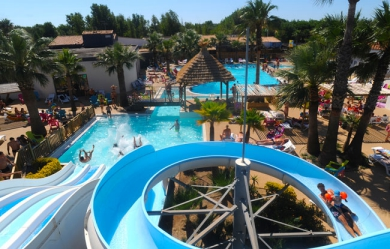 Camping - Les Méditerranées - Camping Charlemagne - Marseillan - Languedoc-Roussillon - France